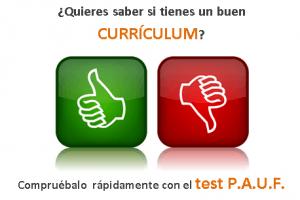 Cómo evaluar tu Currículum con el Método P.A.U.F.