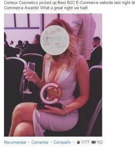 markegin contenidos linkedin premios