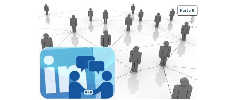 como gestionar y crear red contactos en Linkedin