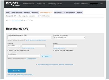 buscador de candidatos en Infojobs1