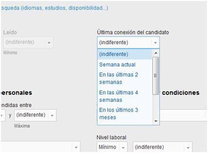 buscador de candidatos en Infojobs