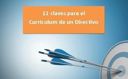 11 claves para el currículum de un directivo