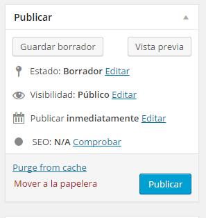 Guardar-editar entrada wp