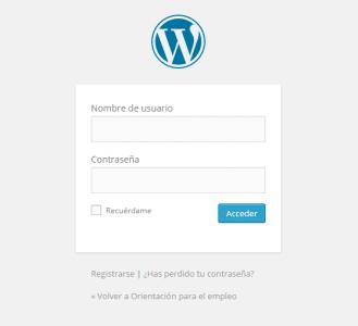 tutorial loging wordpress