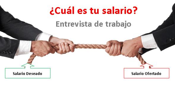 Como negociar salario-Pregunta sobre salario en entrevista de trabajo