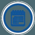 icono calendario curriculum