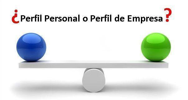 perfil personal o perfil de empresa linkedin