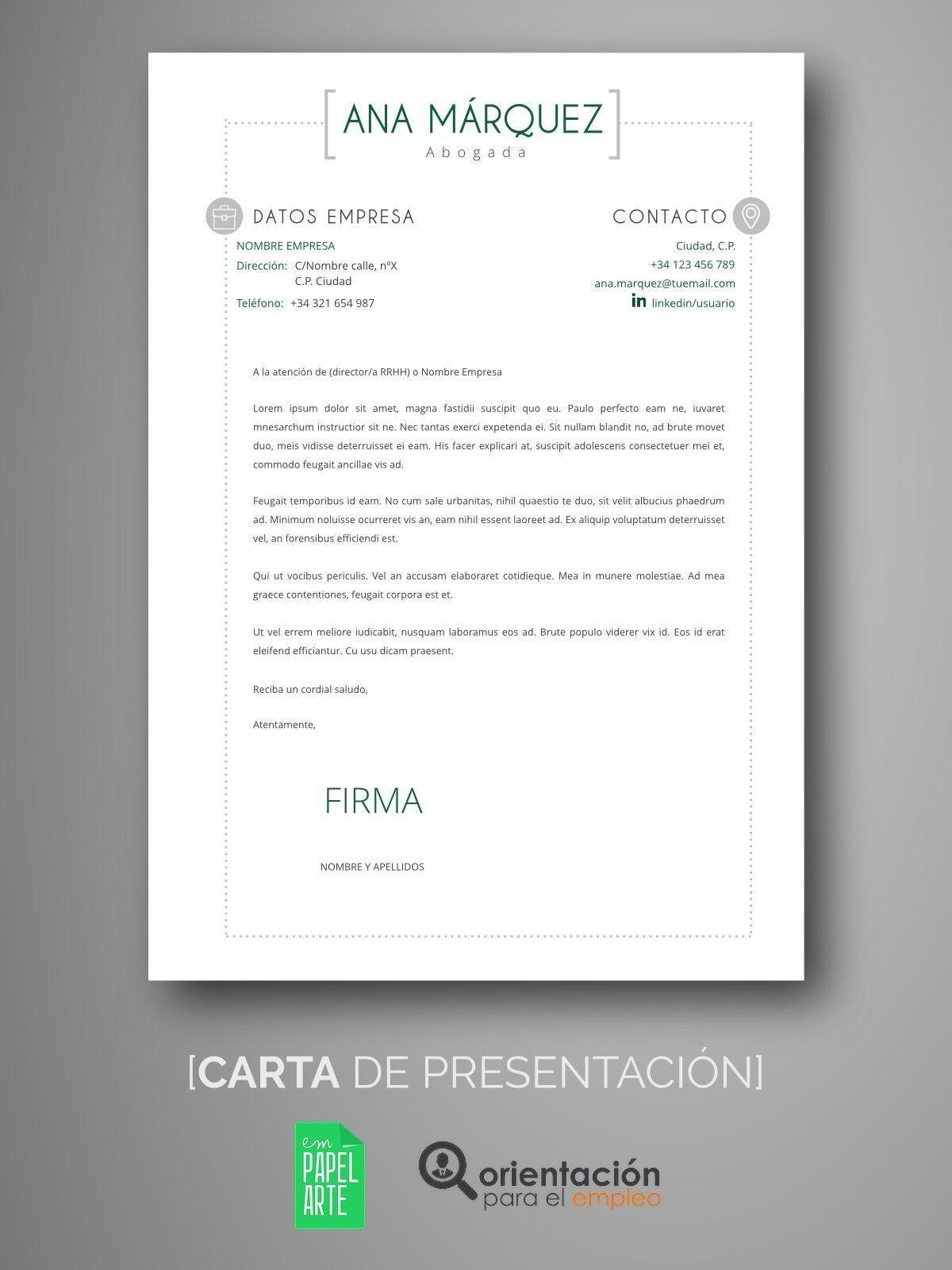 Atractivo Formato De Carta De Presentación De Muestra Para La ...