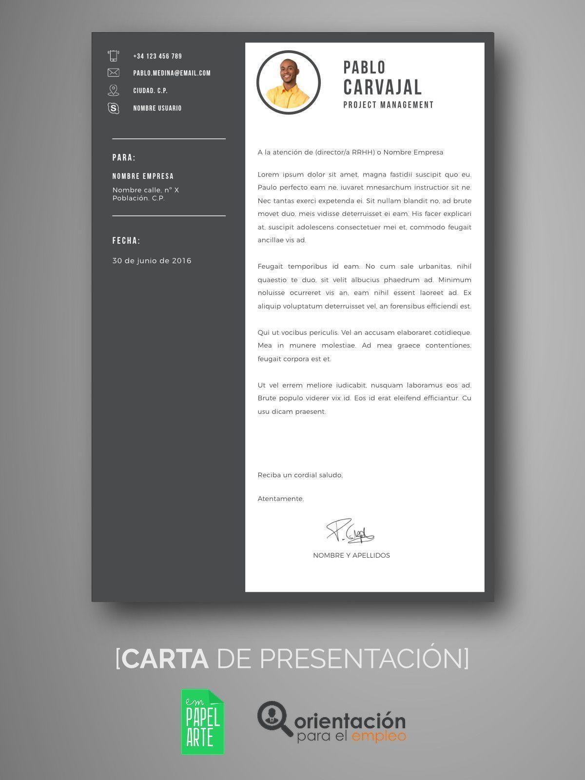 Atractivo Carta De Presentación Muestras Gratis Descargar Imágenes ...