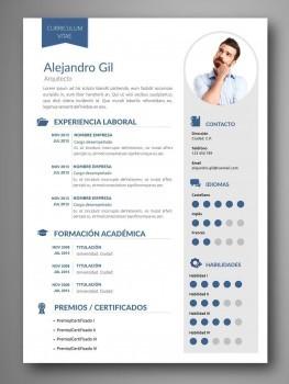plantillas curriculum español