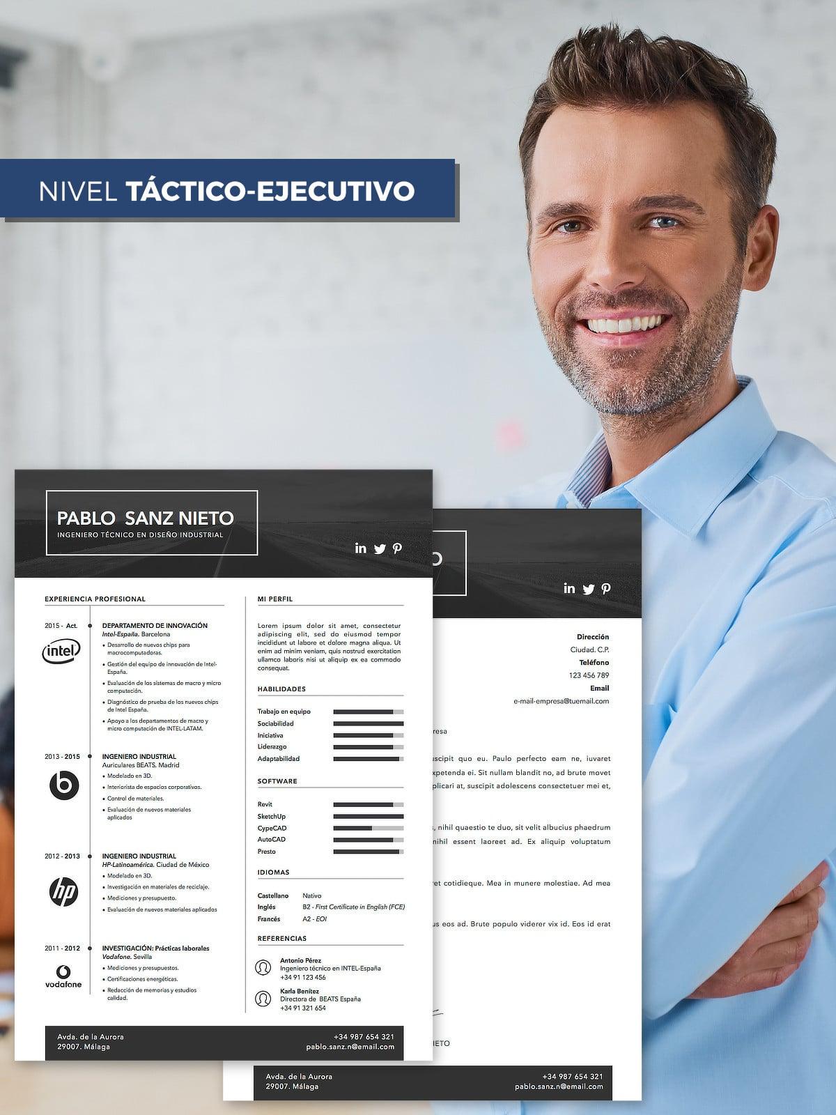 pack profesional  redacci u00f3n de cv y carta de presentaci u00f3n