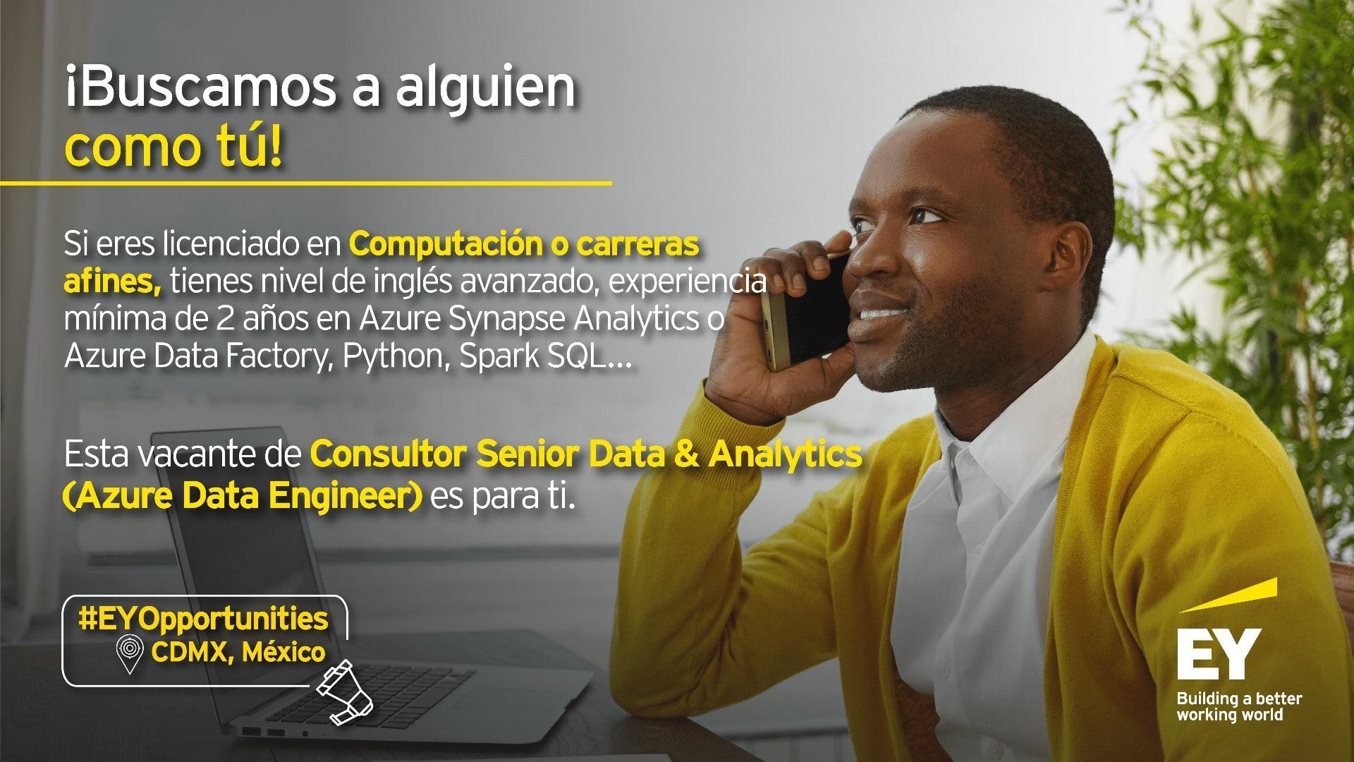 Consultor Senior Data & Analytics: Azure Data Engineer