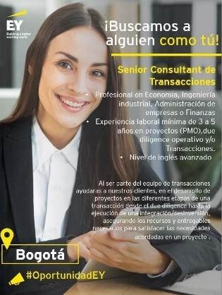 Senior Consultat de Transacciones