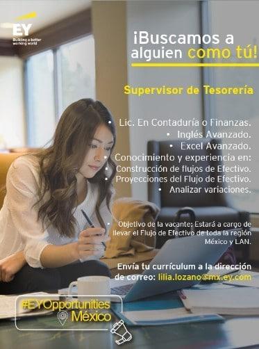 Supervisor de Tesorería